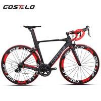 Costelo speedcraft 완전한 자전거 탄소 도로 자전거 bici completa 자전거 프레임 셋 휠 bicicleta 자전거 그룹 DI2