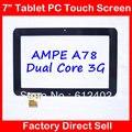 7 дюймов сенсорный экран для Sanei N78 N79 Ampe A78 двухъядерный 3 Г Таблетка емкость сенсорный экран TPC0509