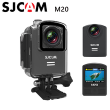 M20 Original SJCAM Wifi Gyro Mini Acción Del Deporte de La Cámara 4 K 24fps NTK96660 2160 P HD 16MP 30 M Impermeable DV Deportes DV Control Remoto