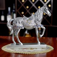 room wine cabinet horse decoration home Decoration resin office accessories small furniture home decoration accessories modern