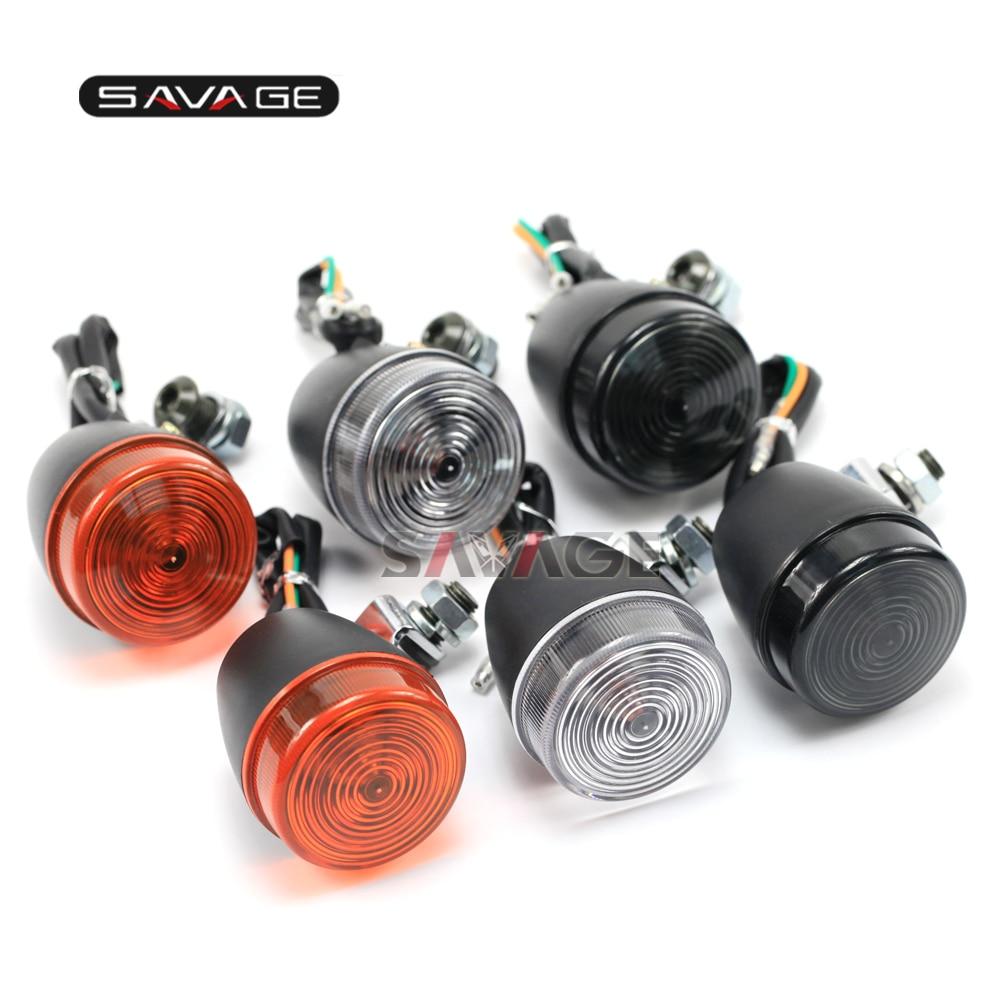 Signal Lumineux de tour Pour HONDA XR 650L/XR 250L Motorycycle Accessoires Indicateur Clignotant Lampe Lentille PP/Acrylique 12 V 10 W