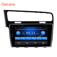 Seicane HD Touch Screen Android 6.0 GPS Navigation car Radio for 2013 2015 VW Volkswagen Golf 7 support Rear View Camera