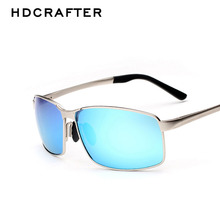 HDCRAFTER 2017 Hot Sale Fashion Colorful Brand Designer Sunglasses High Quality Vintage Sunglasses