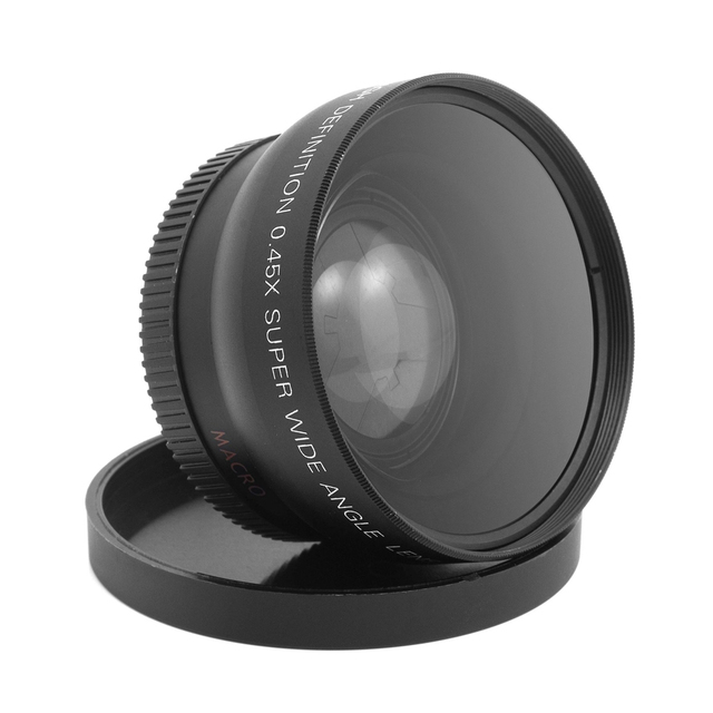 55Mm 0.45X Super High Resolution Wide Angle