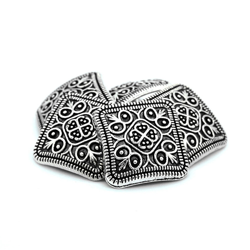 10Pcs Flower Carved Antique Art Sewing Craft DIY Shank Buttons Apparel Clothing Trousers Purse Home Textiles Tools Dropshipping