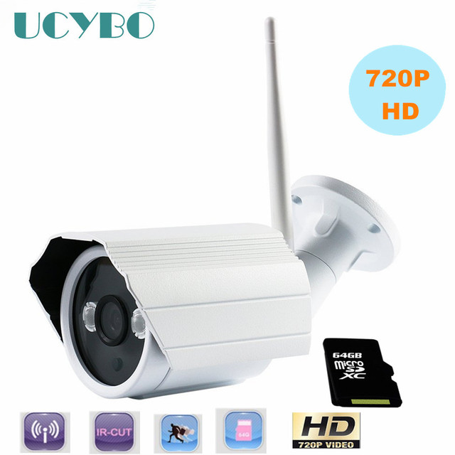 Wireless home security IP Camera system 720P HD outdoor WIFI ...