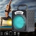 Bluetooth Sem Fio de Alta Potência LED Speaker com TF Slot USB Radio AUX IN