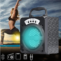 Bluetooth Wireless High Power LED Speaker with USB TF Slot Radio AUX IN
