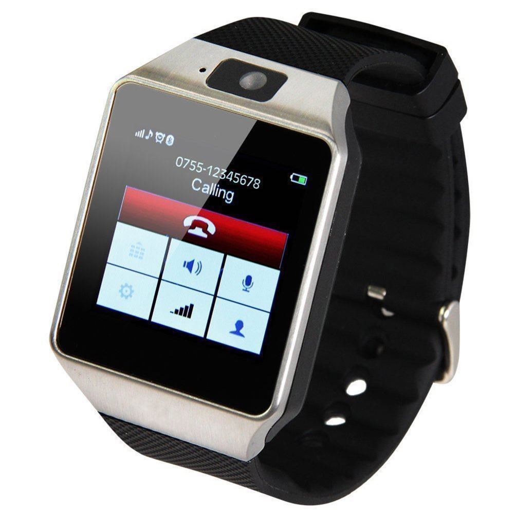 Cawono Bluetooth Smart Watch Smartwatch DZ09 Android Phone Call Relogio 2G GSM SIM TF Card Camera