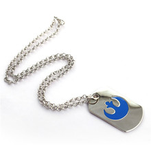 Star Wars Blue Rebel Alliance Pendant Necklace