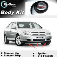 Bumper Lip Lips For Holden Vectra B C 2000~2015 TopGear Shop Spoiler Deflector Car Tuning / TOPGEAR Recommend Body Kit + Strip