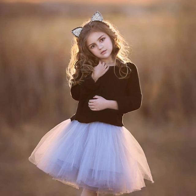 971443125 Lovely Girl Tutu Skirts Colorful Kids Mini Ballerina Flower Girl Dress Girl  Skirt Cute Russia Middle East Saudi Arabia Dubai