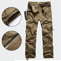 30-40 Plus size High Quality Men's Cargo Pants Casual Mens Pants Multi Pocket Military for Men Long Trousers