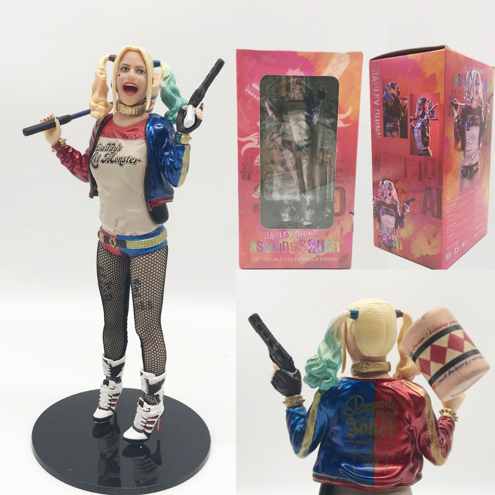 Suicide Squad Harley Quinn PVC Action Figure Collection Model Toy Christmas Gift