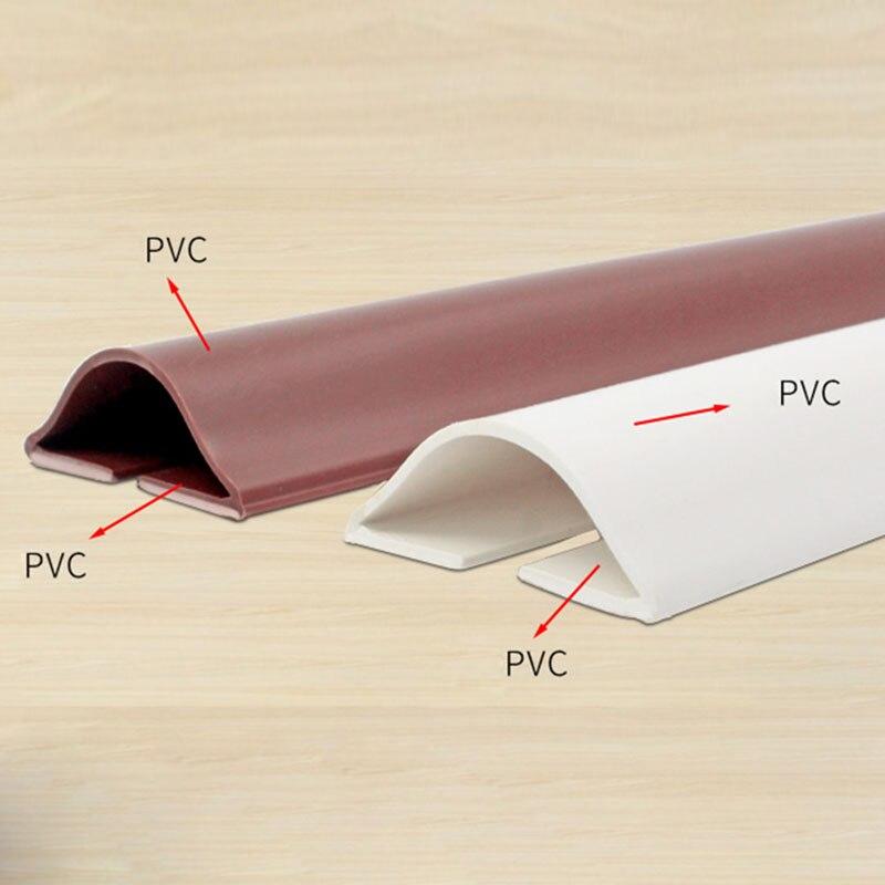 Under Door Draft Stopper Energy Saving Wind Blocker Doors Bottom Guard Seal Strip Excluder Protector DC120