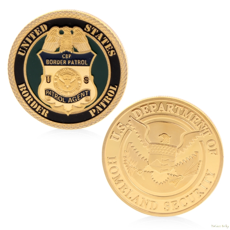 2018 Meaningful U.S Department Of Homeland Security Commemorative Challenge Coin Collection Art Noncurrent Coin