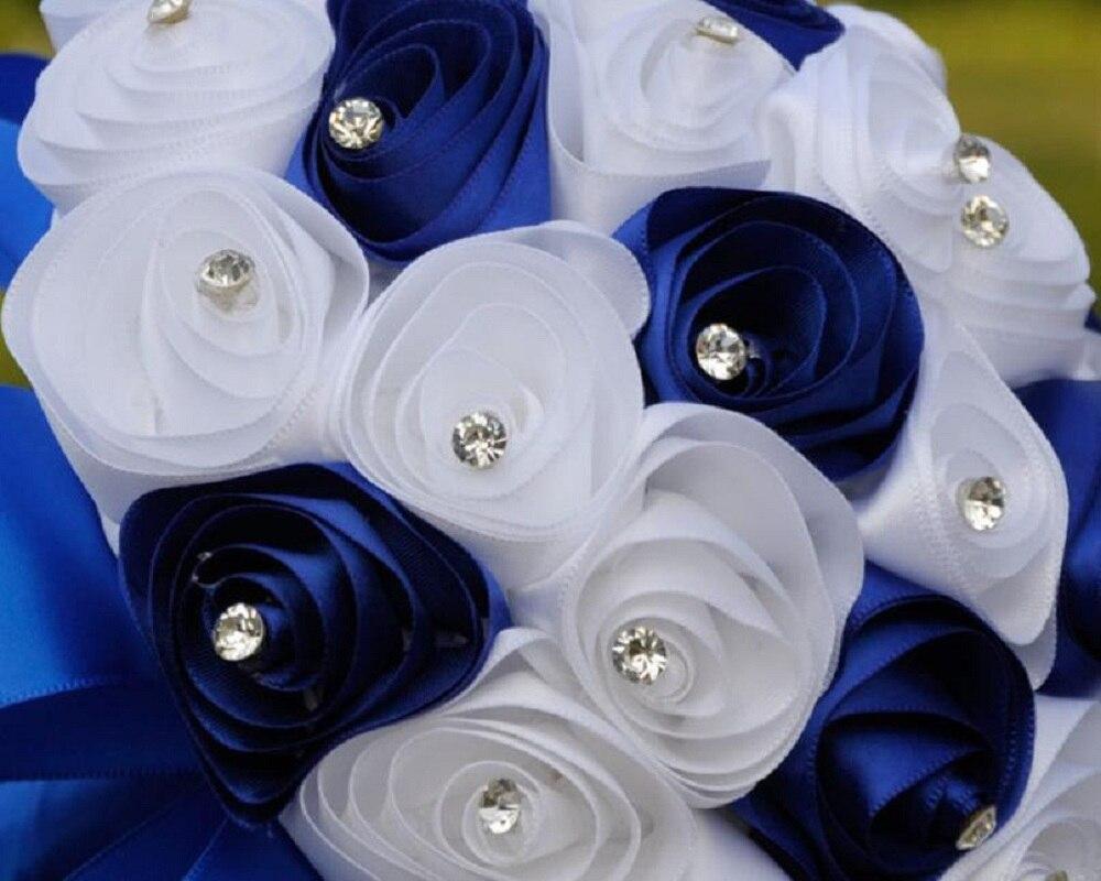 Beautiful Royal Wedding Flowers Bouquets Bridal Crystal Bouquet De ...