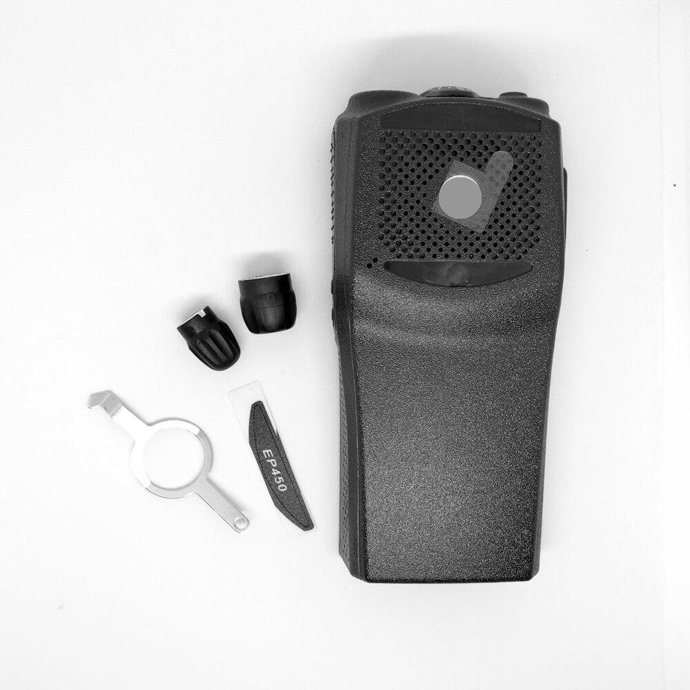 INiTONE Ersatz Front Gehäuse mit die knöpfe Reparatur Gehäuse Abdeckung Shell für motorola EP450 walkie talkie two way radio