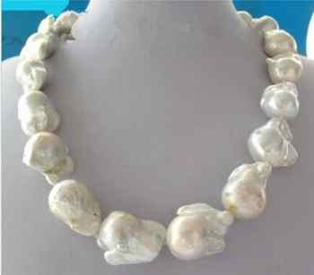 Mode gir> Livraison gratuite Insolite Baroque Collier de Perles Fermoir 18