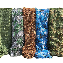 5 Colors Military Camouflage Net 5x3M Outdoor Camo Woodland Army Camo Netting Hunting Sun Shelter Tent Shade Net for Car Cover