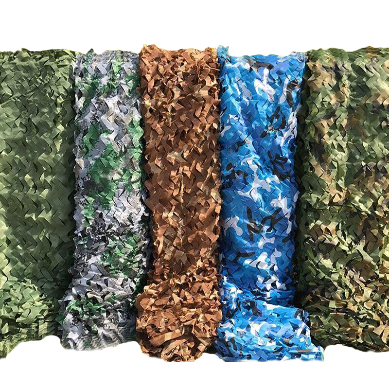5 Colors Military Camouflage Net 5x3M <font><b>Outdoor</b></font> Camo Woodland Army Camo Netting Hunting Sun Shelter <font><b>Tent</b></font> Shade Net for <font><b>Car</b></font> Cover image