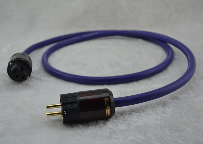 Cardas golden reference DIY Power cord EU Carbon Fiber FI-E50 R /&FI-50 plug