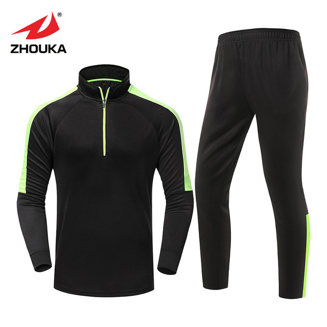 89adbd9e 2018 latest men sports Long Sleeved winter tracksuits set Training clothes  in-stock