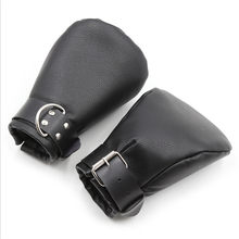 PU Leather Premium Puppy Play Set,Soft Padded Pup Puppy Mitts,BDSM Bondage,Dog Paw Print Paws Mittens,Adult Sex Toys ,Fist Glove(China)