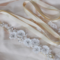 TOPQUEEN S249 Amazing FREE SHIPPING Wedding Dress Belts Pure Handmade Beautiful flowers Bridal Belt  Wedding Bridal Sashes