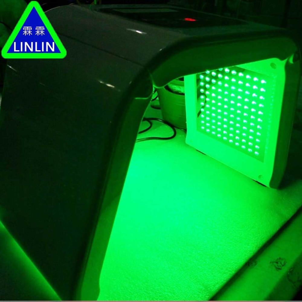 LINLIN 10-color led spectrometer  Red and blue light acne eliminator  Photon Skin Rejuvenator  household