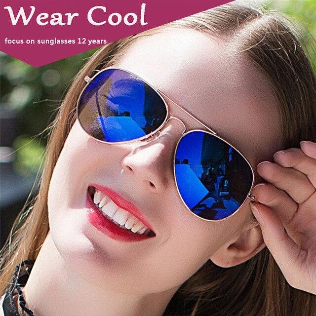 a65e0c19823 Wear Cool 2019 Fashion Brand Women Sunglasses Top Sales Anti-Uv Lady  Sun-Shading Eyeglasses Classic Retro Cute Pilot Sun Glasses