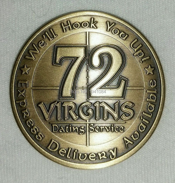 72 virgins dating service coin