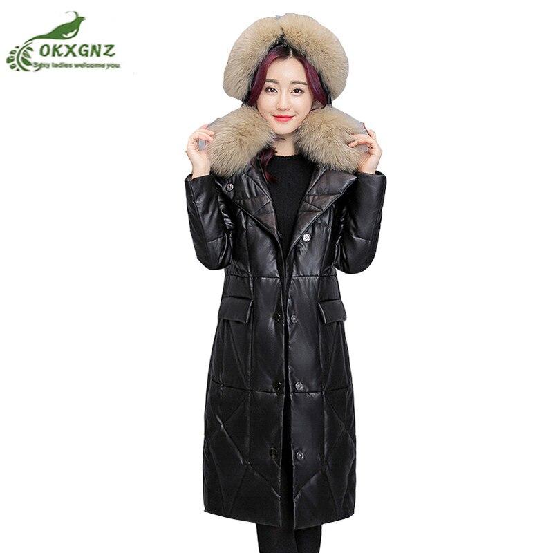 куртка женская кожаная зимняя больших размеров