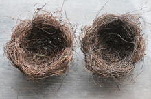 Country style rattan birds nest for your photo shoot