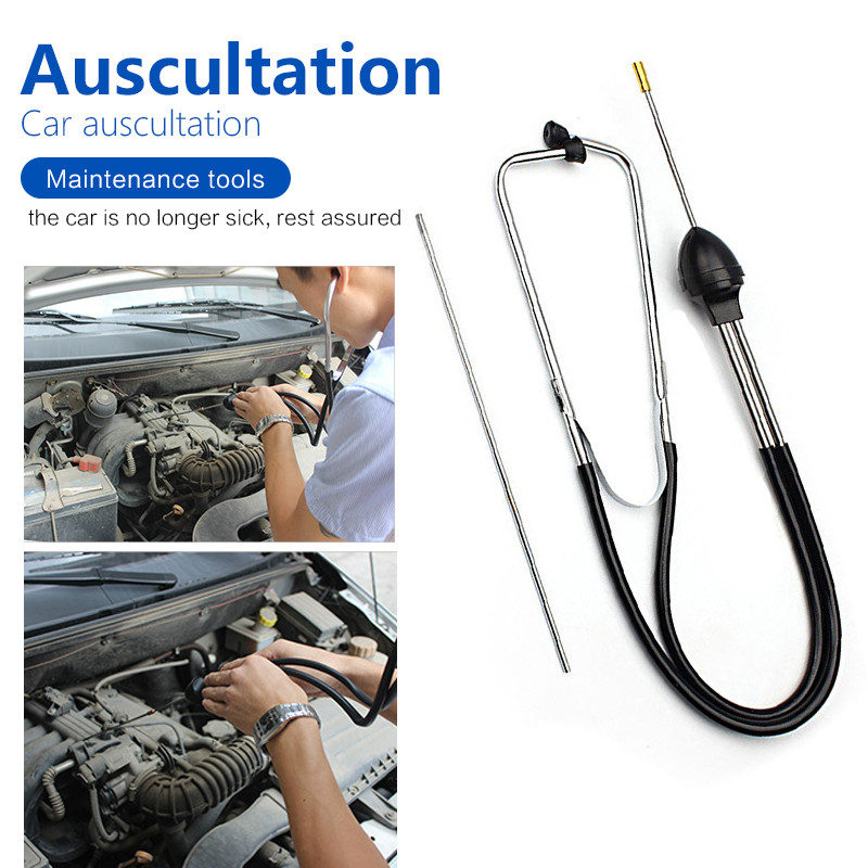 Auto Mechanics Stethoscope Car Engine Block Diagnostic Automotive Hearing Tools