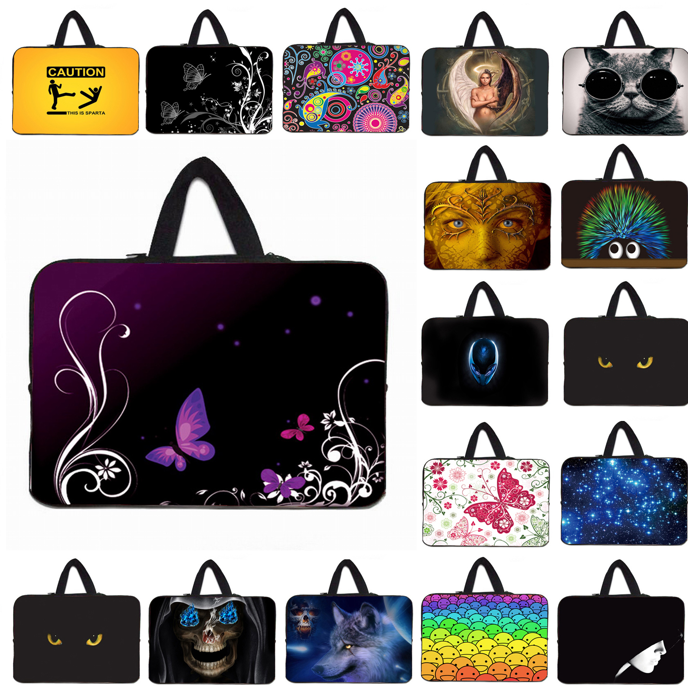 10 9.7 Tablet 10.1 11.6 12 13 14 15.4 15.6 17 Slim Notebook Laptops Bags Cases Washable Ultrabook Protect Briefcase Pouch Bag