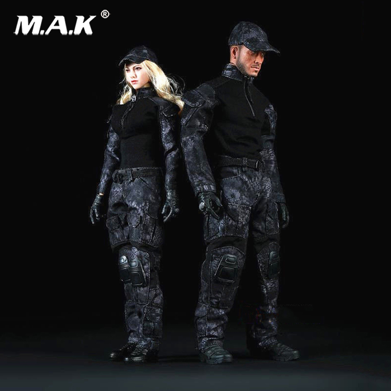 1:6 Scale Camouflage Clothing Suit Clothes Set for 12 inches Action Figure 1 6 scale male clothes suit leather jacket men s jacket suit model for 12 action figure body accessories