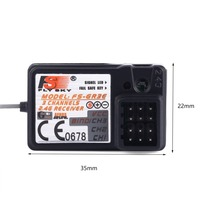 The Standard FS-GR3E 2.4Ghz 3-Channel Receiver for Rc Car Auto Boat New все цены