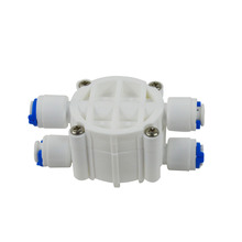 Auto Shut Off Valve 1/4 OD Quick Connect Fittings Parts for Water Filters/Reverse Osmosis RO Systems цена