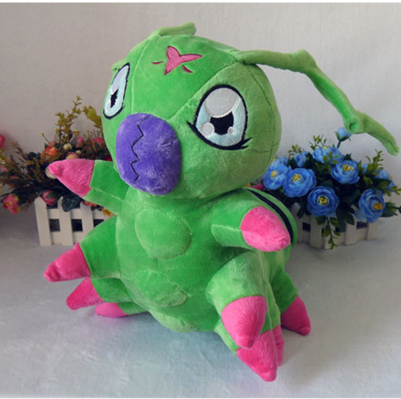 digimon Digital Monsters toys anime Wormmon plush toy 40cm high quality short plush doll pillow cosplay