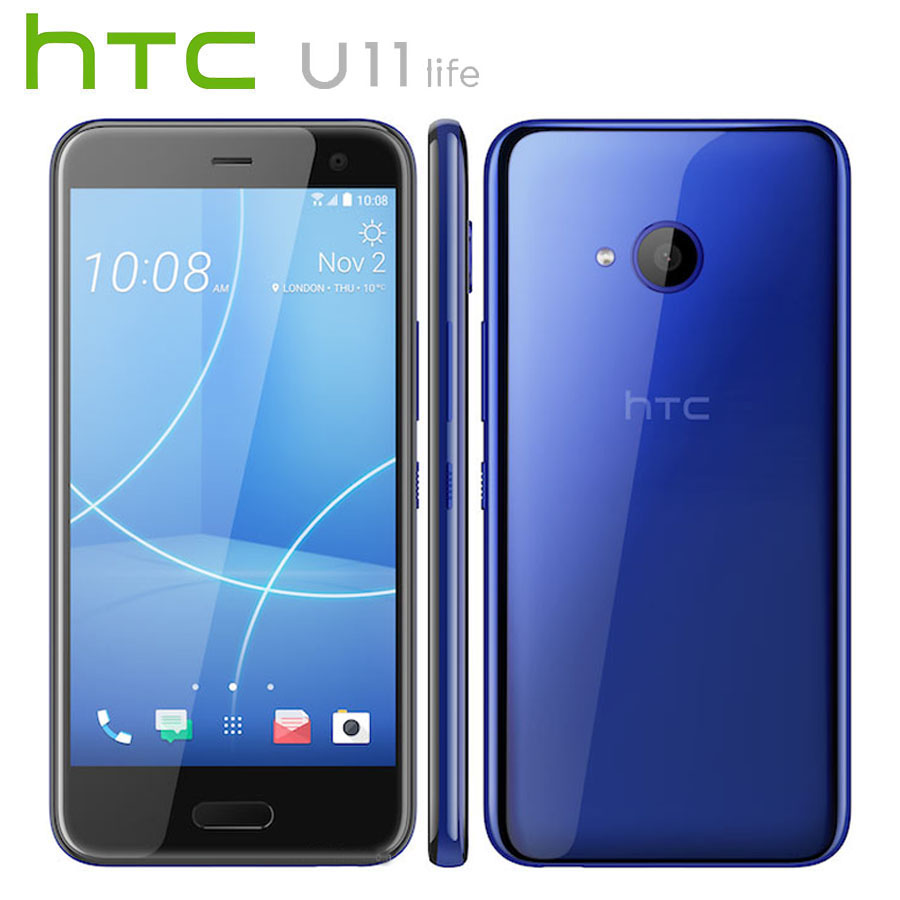 Original NEW HTC U11 Life 4G LTE Android Mobile Phone Snapdragon630 OctaCore 3GB RAM 32GB ROM 5.2 inch 1920X1080 IP67 Smartphone
