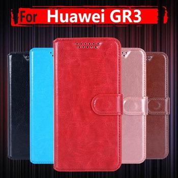 Dla Huawei GR3 skrzynki pokrywa 5 0 cal PU SKÓRZANY PORTFEL telefon etui na Huawei GR3 TAG-L21 TAG-L13 TAG-L23 etui z klapką tanie i dobre opinie TWONEDAY Anti-knock Odporna na brud Podpórka Heavy Duty Ochrony Z Kieszeni Karty Wzorzyste cute Zwykły Zwierząt Marmur