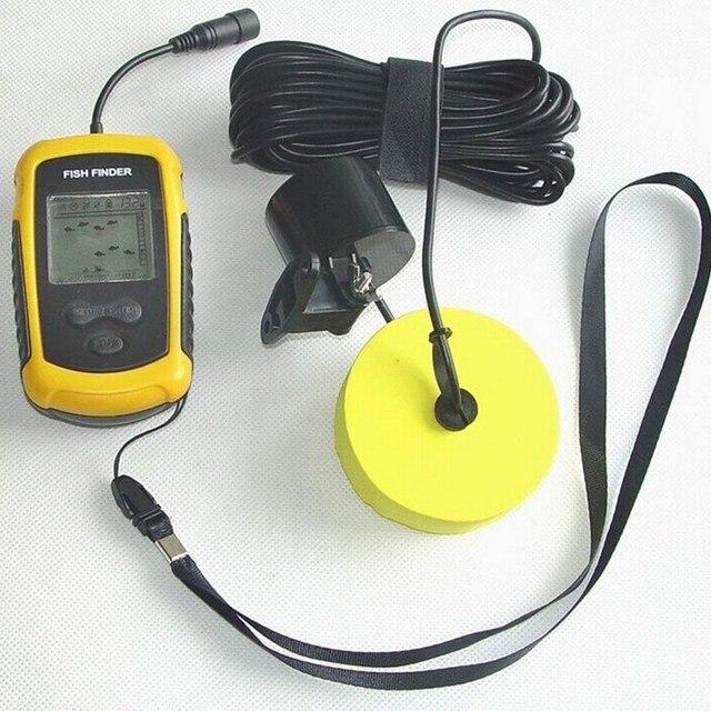 Potable Wired Fishing Finder LCD Sonar Sensor Depth Sounder For Carp Fishing Alarm 100M/328ft Sea Lake Fishing Accessories