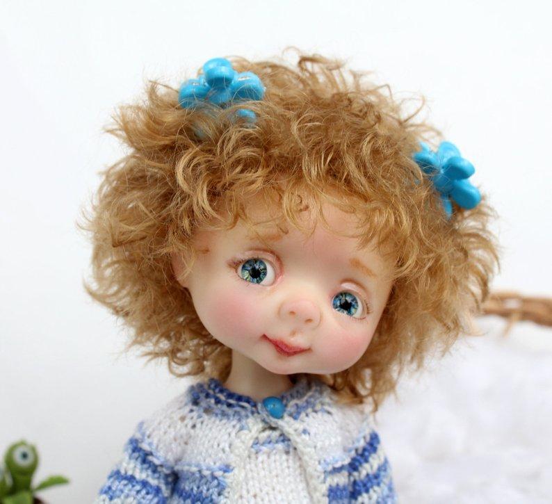 Dollbom Genny 1 8 BJD Doll With Secretdoll Unisex Body Resin Figure YoSD Baby Toys