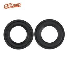 Ghxamp 3 INCH Woofer Speaker Foam Repair Surround Suspension Speaker Accessories Sponge Ring Circle For GO PLAY Diy 2PCS