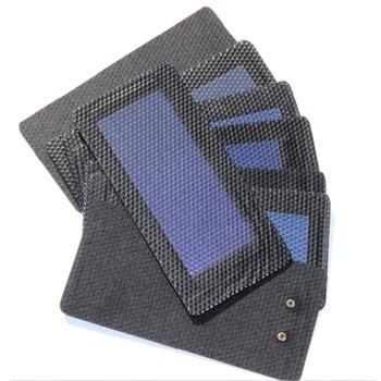 1Pc 0.3W 2V Waterproof Foldable Solar Panel DIY Battery Cell Flexible Amorphous Silicon Membrane Solar Charging Panel 5