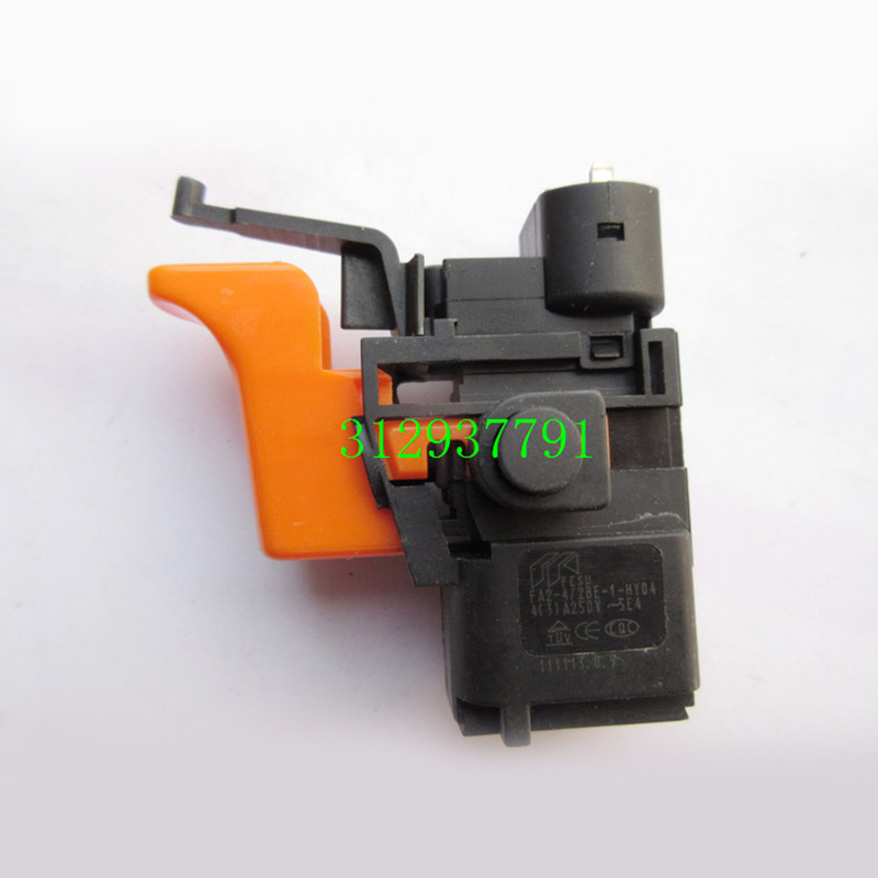 Free shipping!  Electric hammer Drill Speed Control Switch for bosch 10mm 6.5mm hammer Drill ,Power Tool Accessories free shipping original electric hammer drill speed control switch for bosch tsb1300 gsb500re power tool accessories