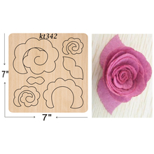 rose  cutting dies 2019 new die cut &wooden Suitable for common machines on the market