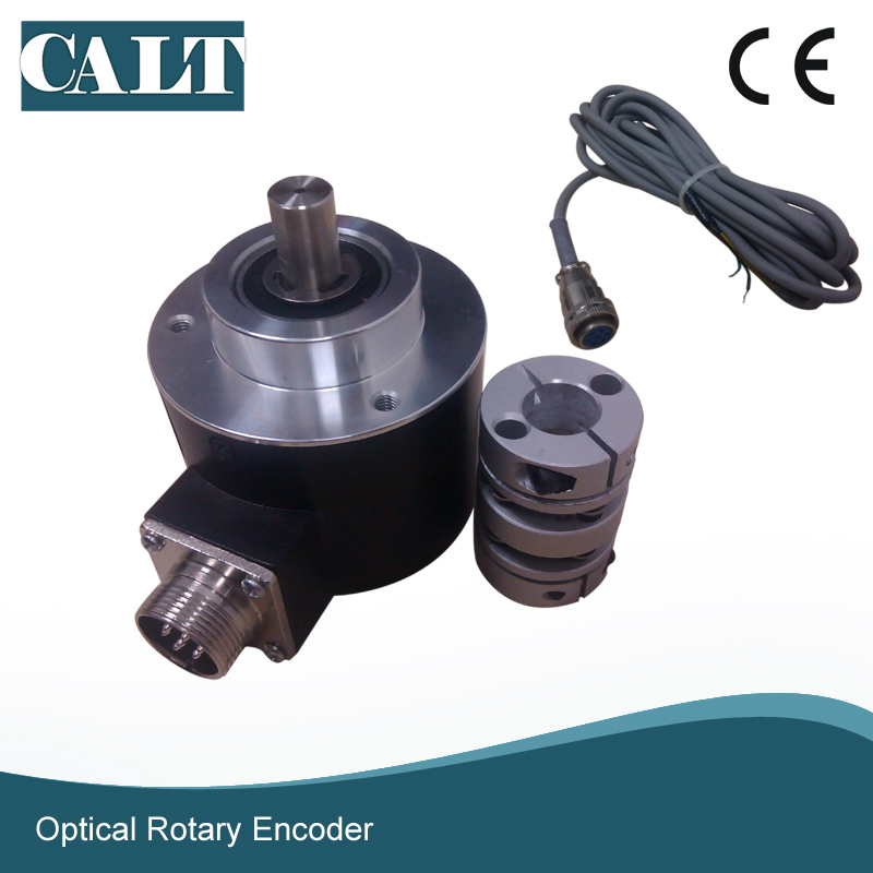 Free shipping GHS5810 motor optical encoder rotary encoder with connector side npn output A B Z rotary encoder aps3 12gmc2 z