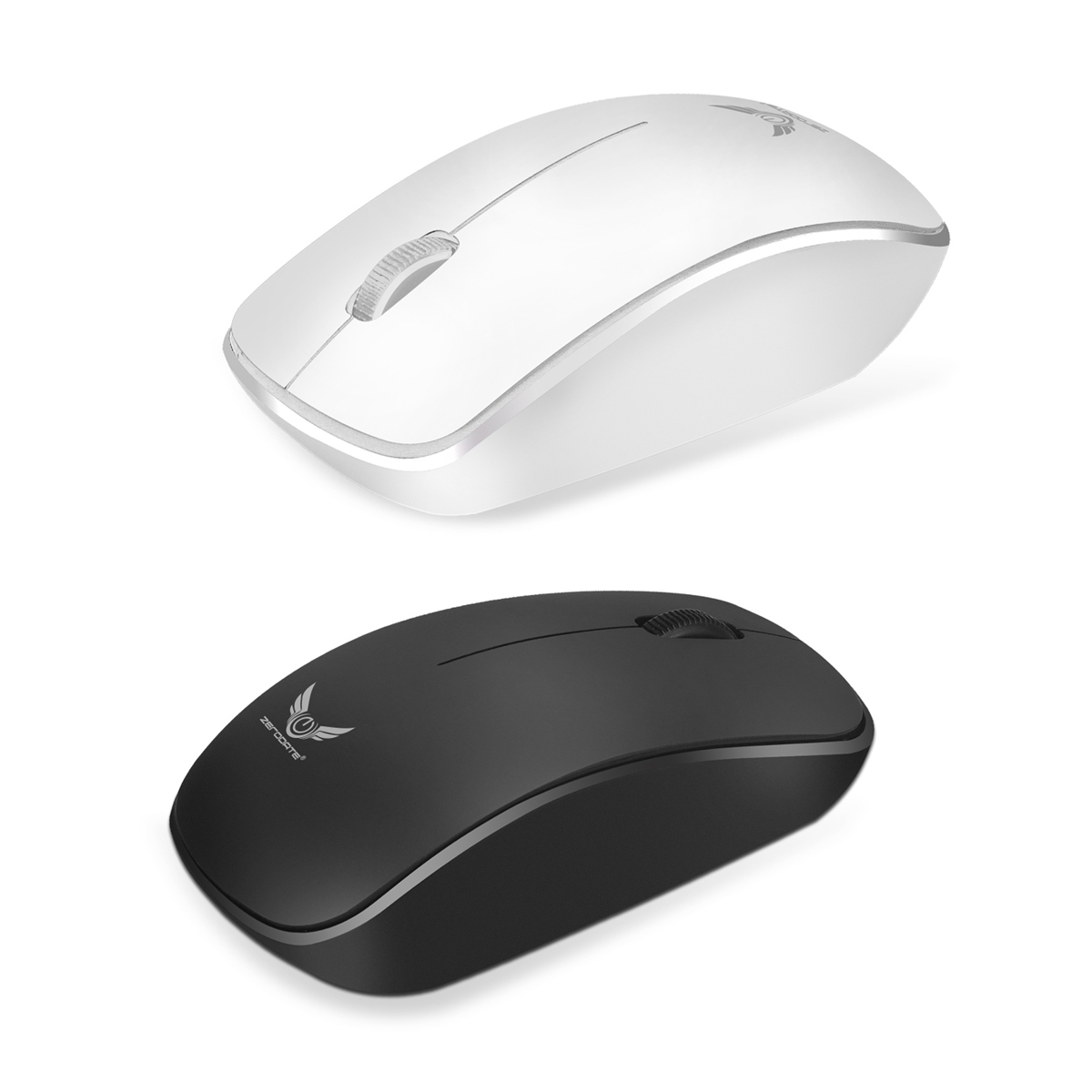 ZERODATE T16 Wireless Mouse USB Rechargeable Optical 1600DPI Office Computer